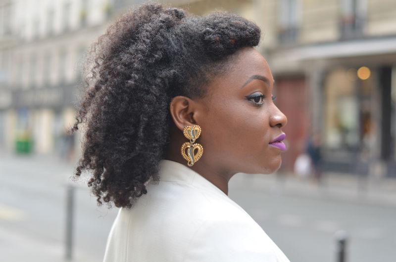 pin up 60 coiffure sur cheveux naturels