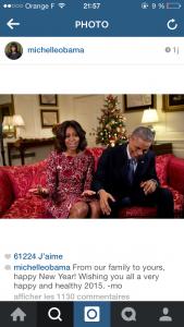 Les voeux de Michelle Obama