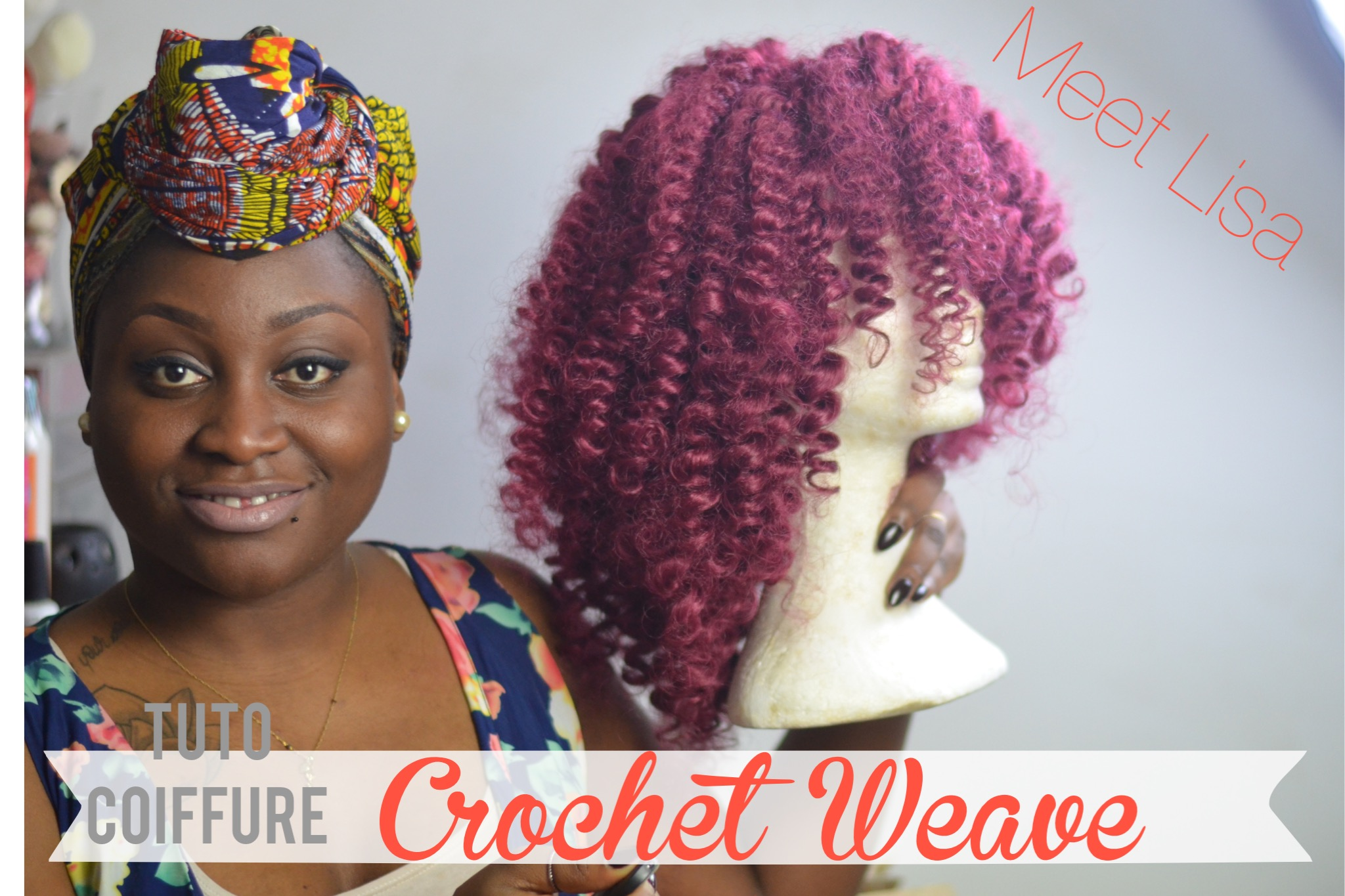 Crochet Braids Wig : comment rEaliser une perruque crochet braids (wig)