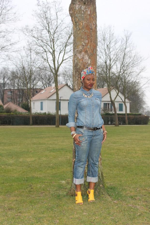 total look jeans