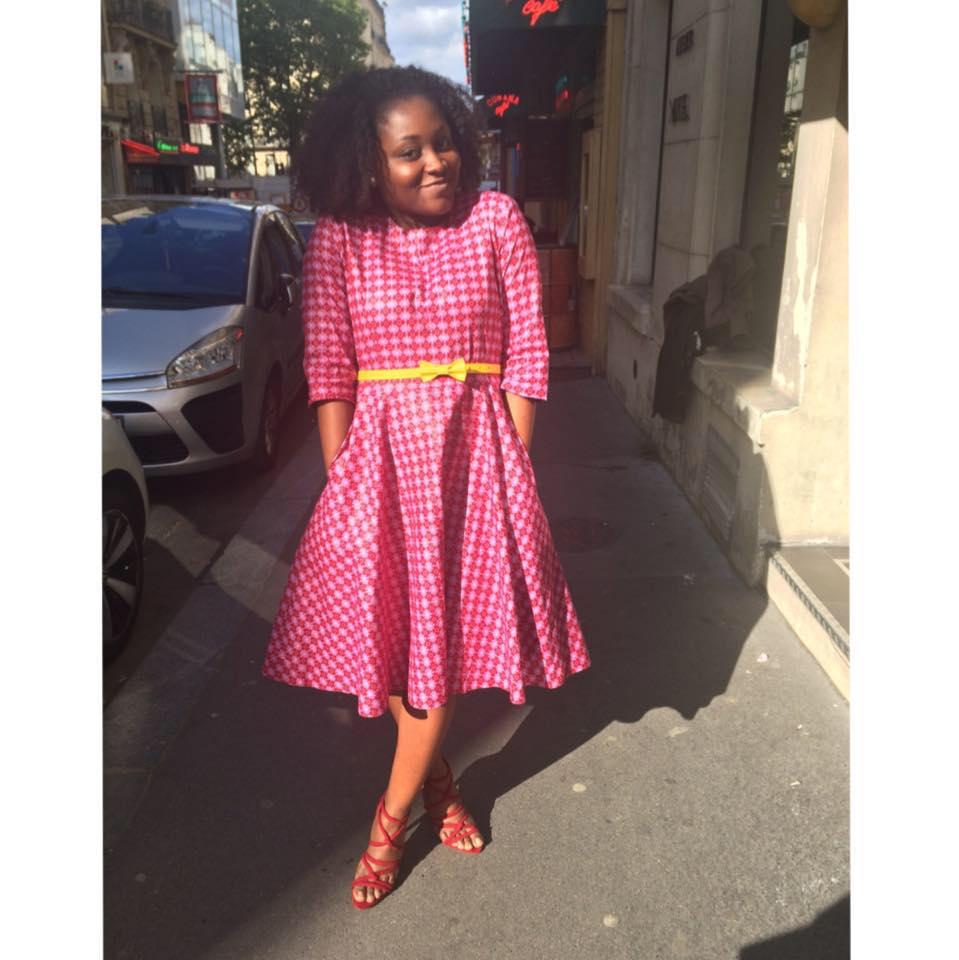 Mymou dans sa jolie robe <3