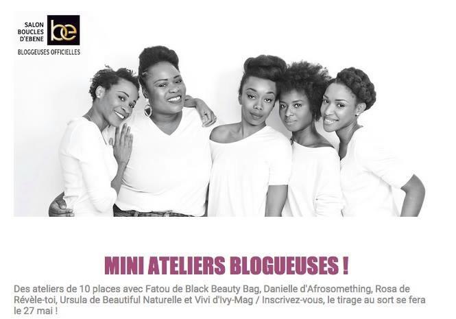 Les mini ateliers avec les jolies blogueuses.
