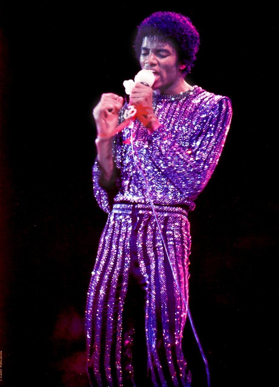 rock with you michael Jackson sequins jumpsuit