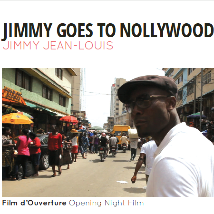 Jimmy goes to Nollywood film d'ouverture.