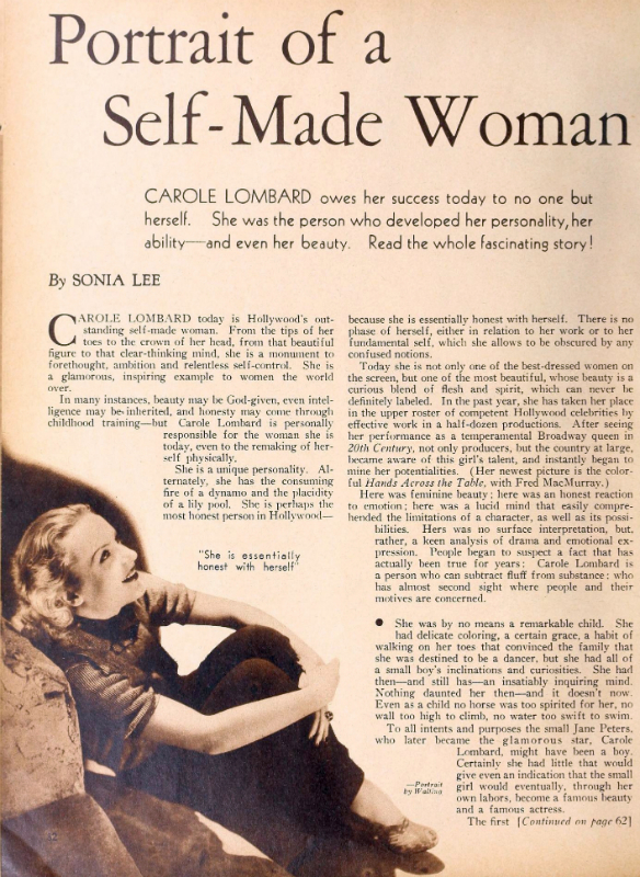 Carole Lombard - Photo prise ici