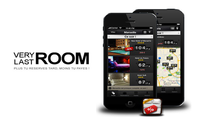 Very Last Room pour avoir une réservation à la dernière minute - Photo prise ici