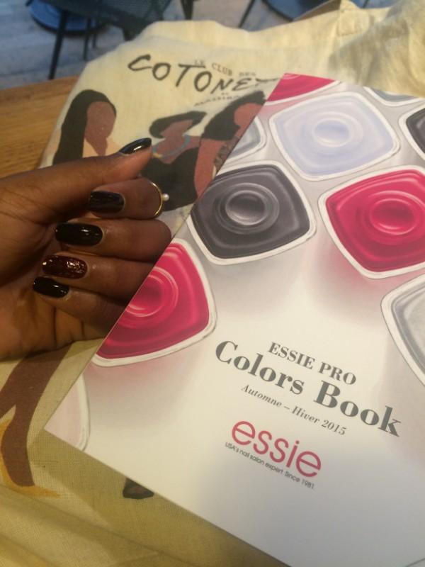 Essie x Le Club des Cotonettes