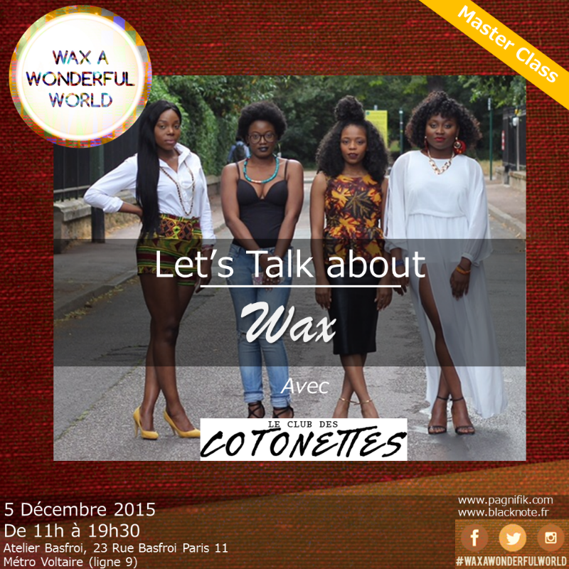 Let's Talk About Wax : la masterclass du Club des Cotonettes
