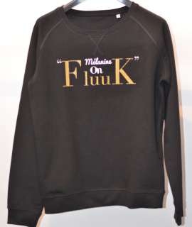 melanine on fleek fluuk sweatshirt pull du club des cotonettes wax goodies cadeau