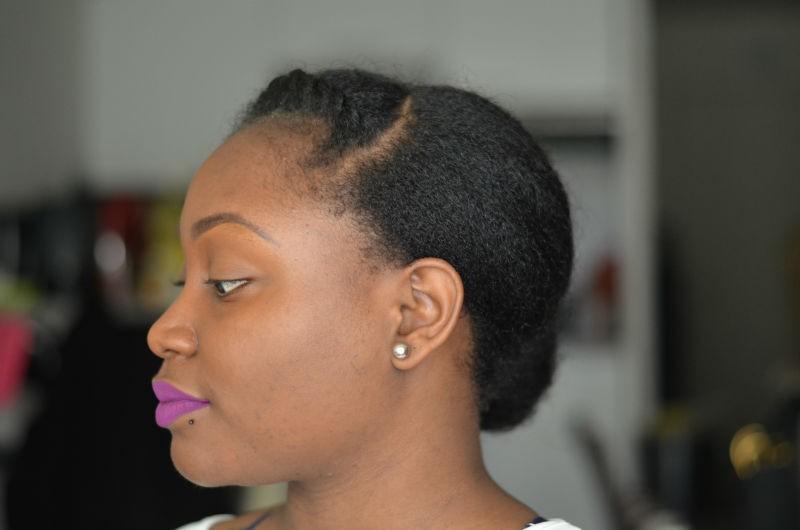 etirer ses cheveux en gardant du volume brushing