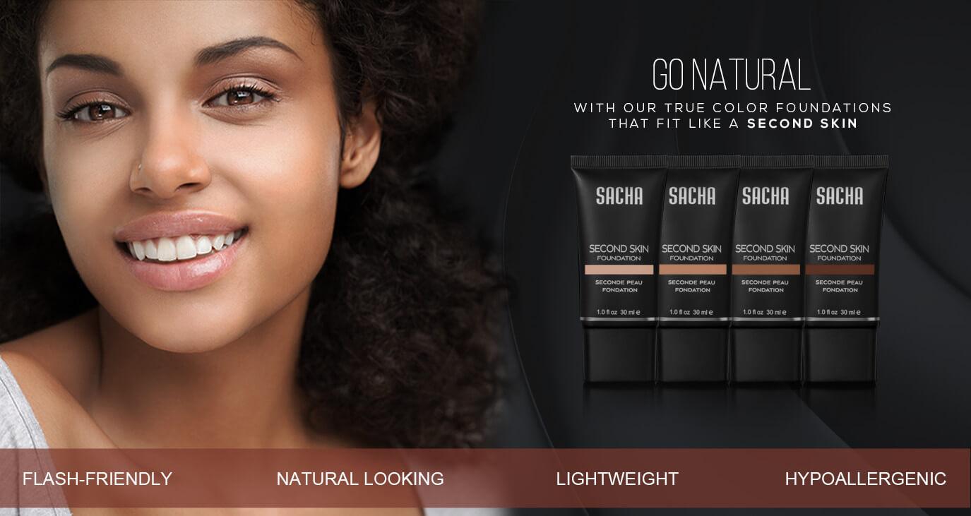 sacha cosmetics second skin