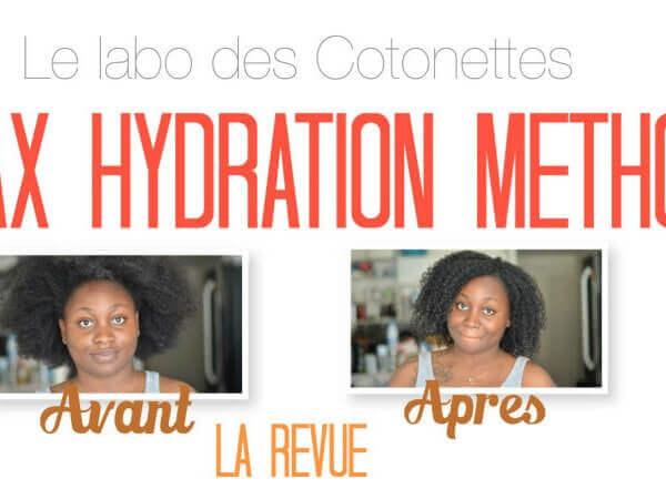 max hydration method le labo des cotonettes revue