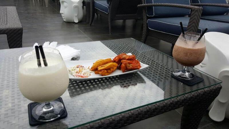 Wings et cocktails à Maison Farenheit  - Lagos