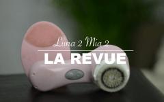 clarisonic foreo luna 2 mi 2 revue brose pour le visage