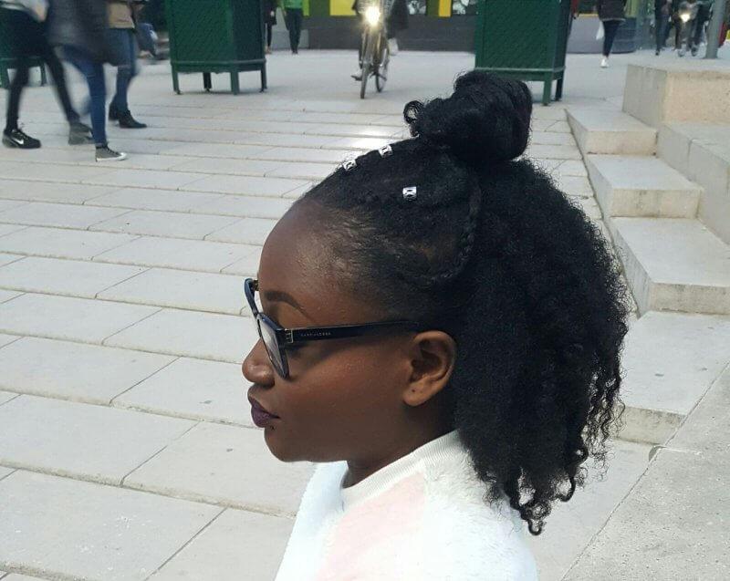 Recycler coiffure sur cheveux naturels