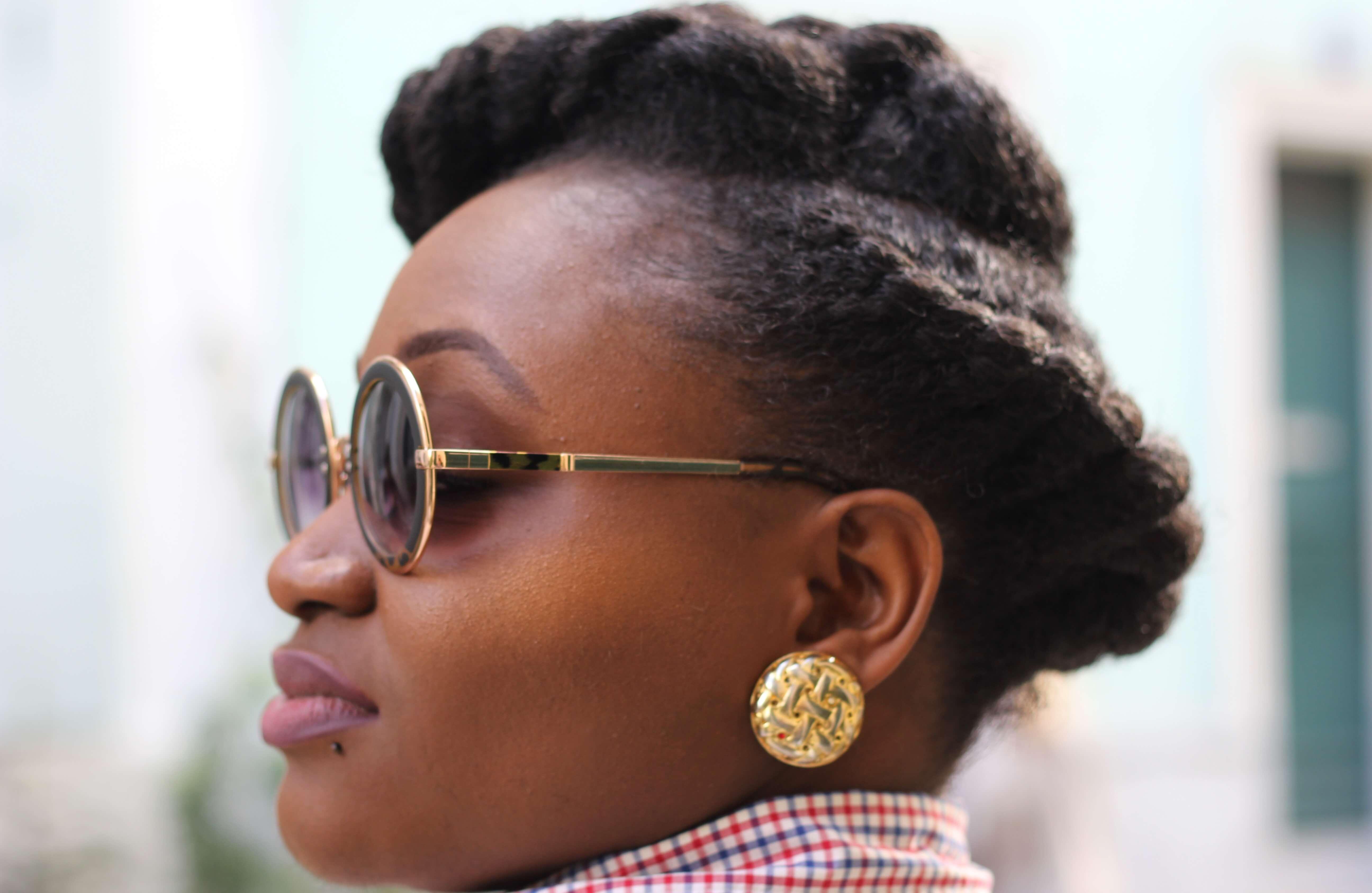Coiffure moderne sur cheveux cr pus naturels - Coiffure moderne 2017 ...