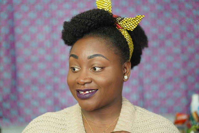 extensions à clips crépus cinq coiffure protectrices
