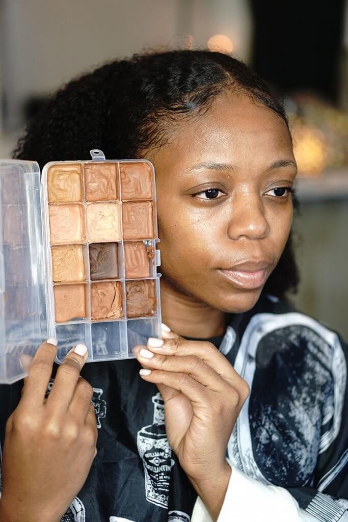 maquillage effet peau nue par isabelle boireau