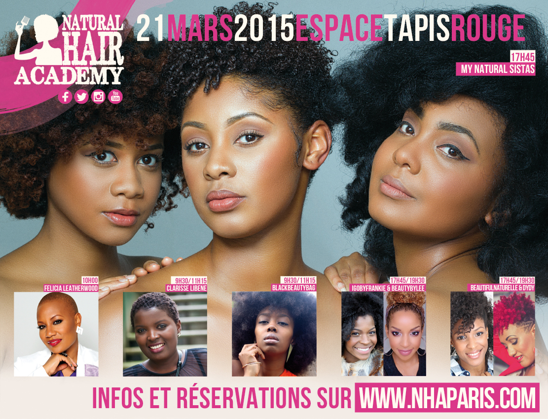 natural hair academay paris 2015