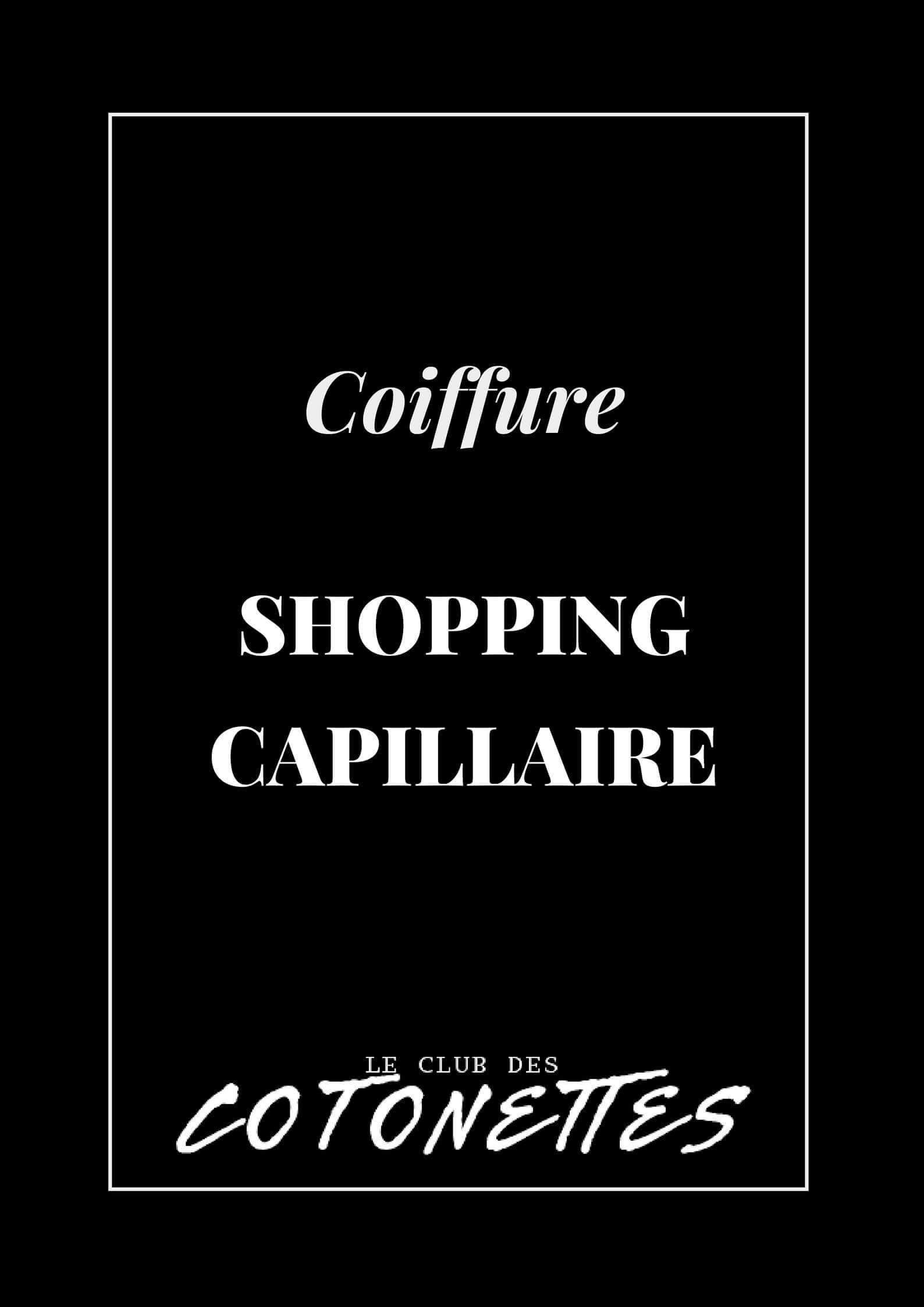 Shopping Produits Capillaires