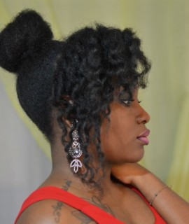lady in red lafemme en rouge maquillage femme noire smokey eye makeup forever ultra HD