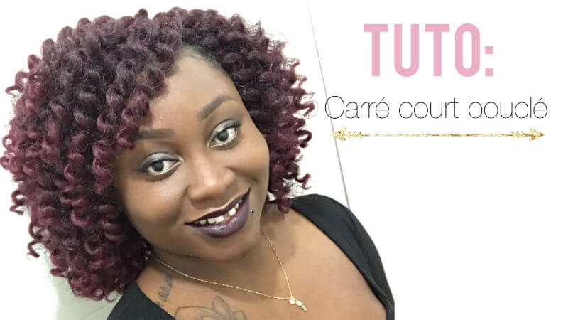 crochet braids carré de bouclesnatural hair factory