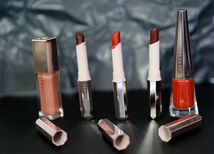 stunna lip paint gloss bomb mattemoiselle fenty beauty revue