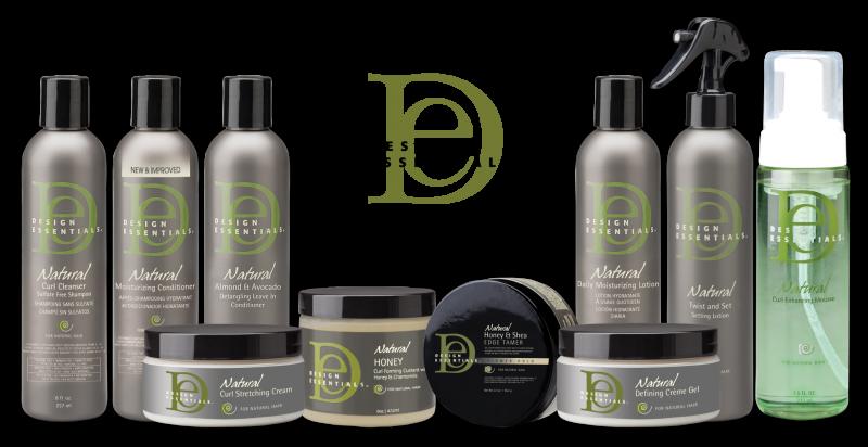 La gamme Almond & Avocado de Design essentials contient des produits pour tous les types de cheveux